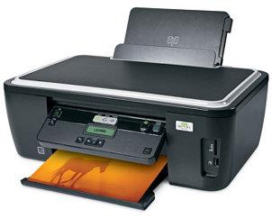 Laser printer making a color print