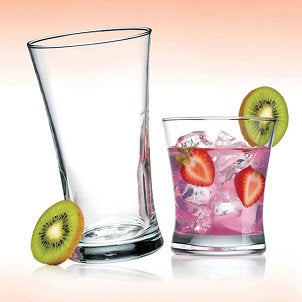 Drinking glasses and barware