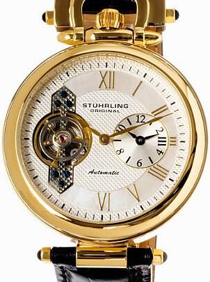 Gold Stuhrling Original men's watch