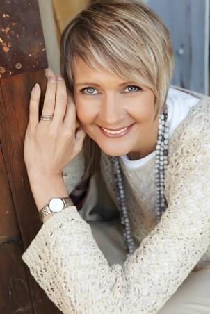 Woman wearing a Stuhrling Original watch