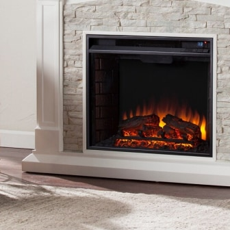 Shop Warm Up With Electric Fireplaces