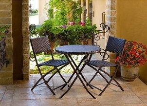 Beautiful bistro set patio furniture