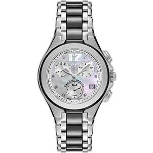 A sleek women's TechnoMarine watch