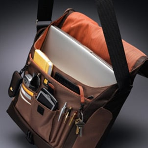 Laptop messenger bags often have organizers and extra features