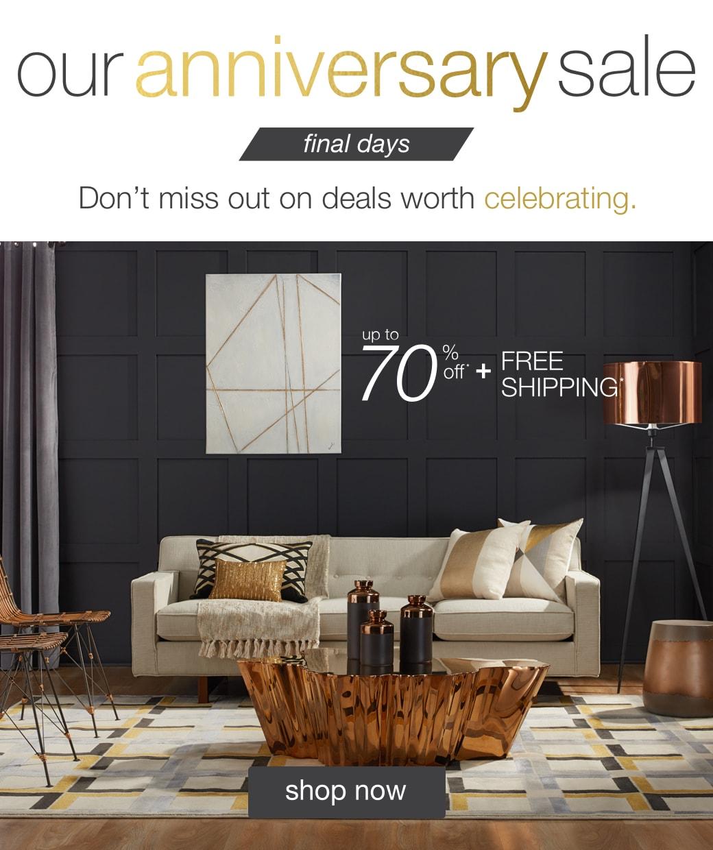 overstock anniversary sale