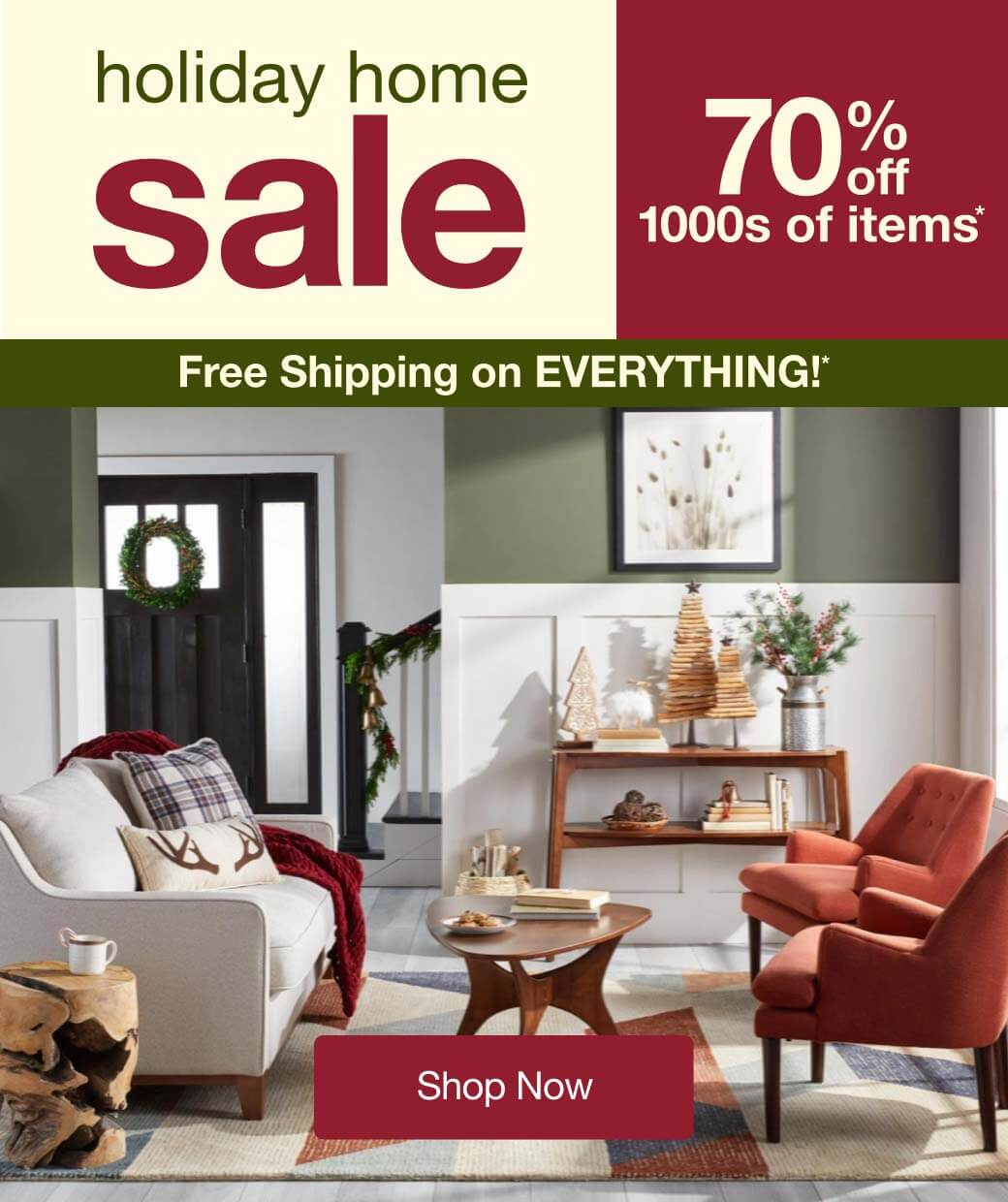 Holiday Home Sale Sales & Deals