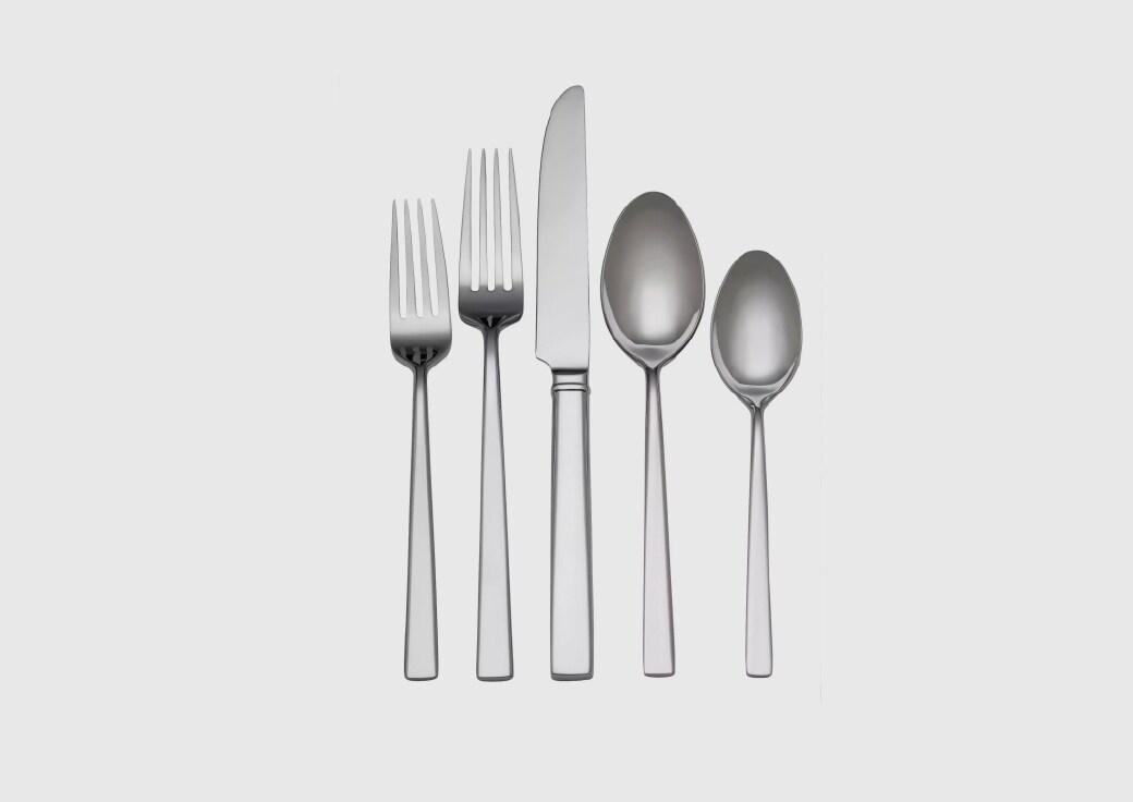 Silver Flatware Set