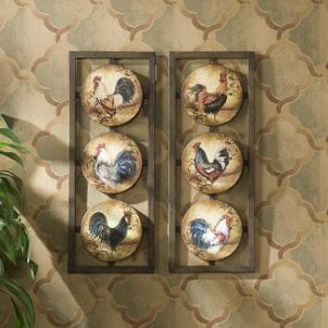 Rooster kitchen wall hanging updates simple wallpaper