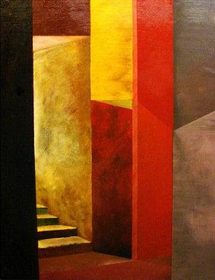 Three-piece canvas art set