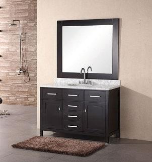 How to Avoid Clutter on Bathroom Vanities | Overstock.com