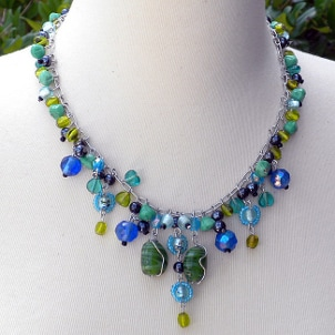 Beaded handcrafted necklaces are highly popular