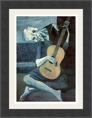 Picasso's 'The Old Guitarist' painting