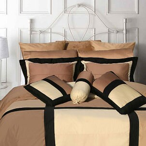 Modern bedding is sophisticated and stylish