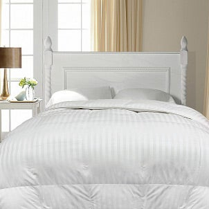 Down comforters pull your bedroom together