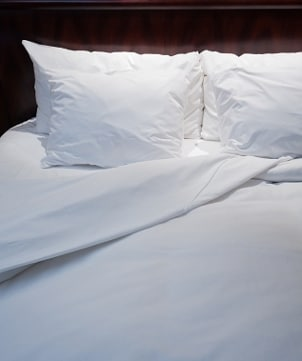 Flat sheets aren't just for the bed