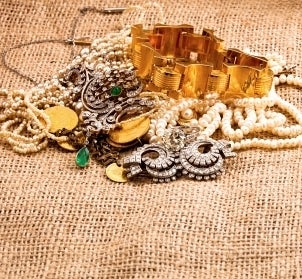 A pile of jewelry in need of some home repair