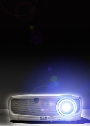 LCD projector for home theater entertainment