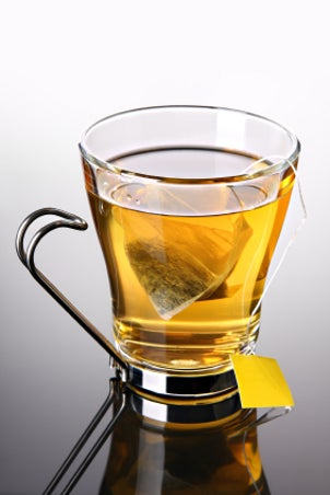 Inviting Cup of Hot Tea