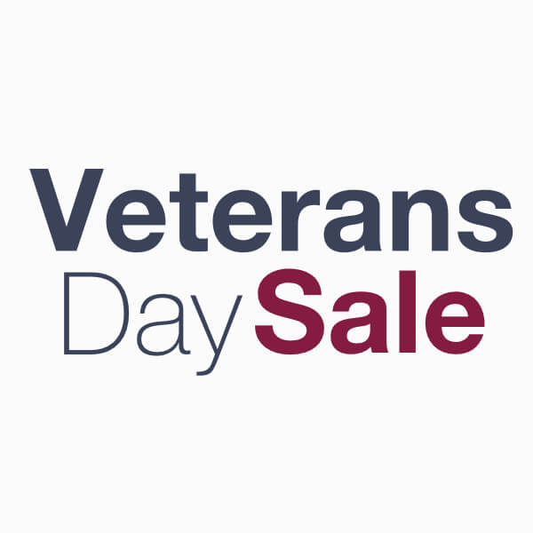 Veterans Day Sale*