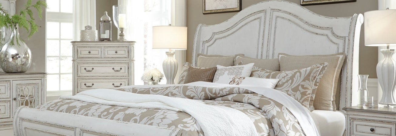 White Shabby Chic Bedroom Furniture