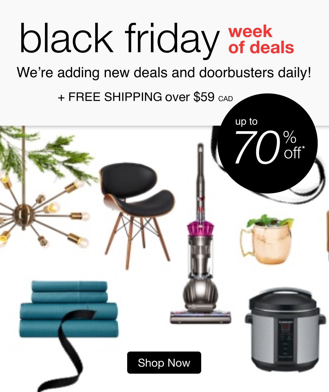 black friday week of deals