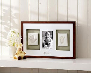 Picture frame with baby photo