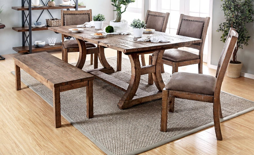 Rustic Dining Room u0026 Bar Furniture | Find Great Furniture Deals Shopping at Overstock.com & Rustic Dining Room u0026 Bar Furniture | Find Great Furniture Deals ...