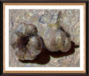 'Garlic and Old Lace' Giclee Print