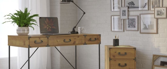 extra 10% off select home office furniture by Bush*