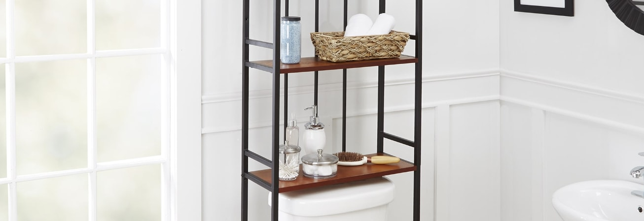 Bathroom Organization & Shelving Guide