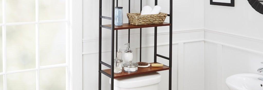 Bathroom Organization & Shelving Guide
