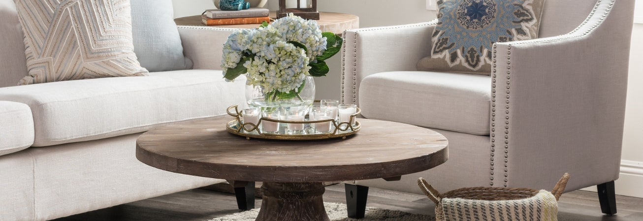 Coffee  Console Sofa and End Tables For Less Overstock com