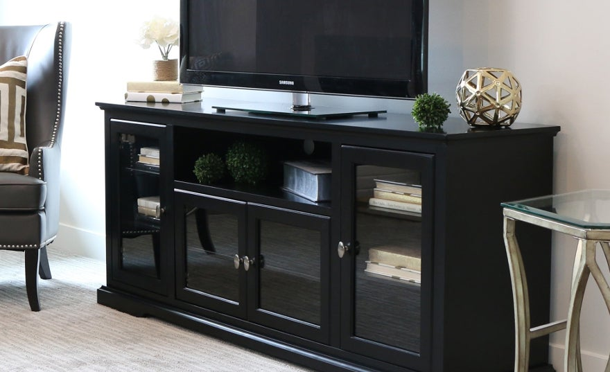 Buy TV Stands U0026 Entertainment Centers Online At Overstock.com | Our Best  Living Room Furniture Deals