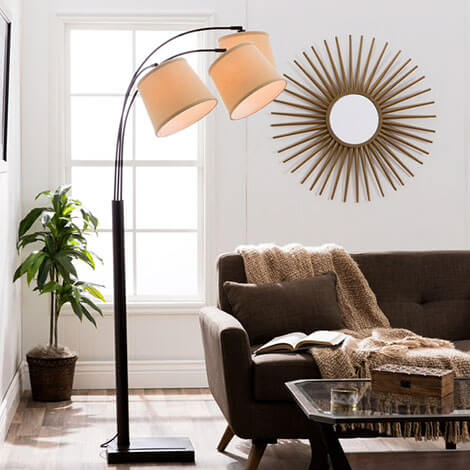 floor lamps for less overstockcom - Unique Lamps For Living Room