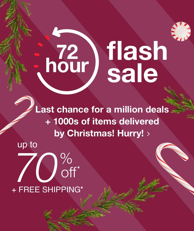 72-Hour Flash Sale