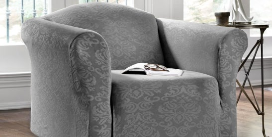 Buy Chair Covers U0026 Slipcovers Online At Overstock.com | Our Best Slipcovers  U0026 Furniture Covers Deals