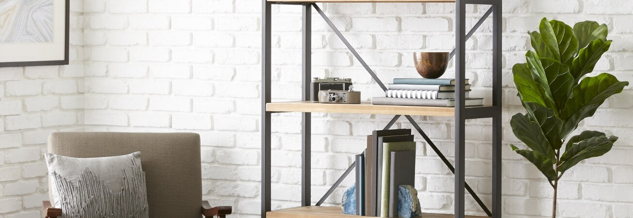 backless iversen desk bookshelf with writing wayfair keyword