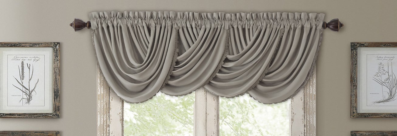 valances baroque window swag bedroom seattle floral treatment photo treatments valance traditional