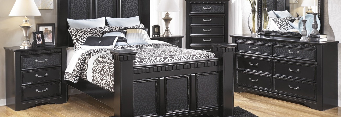 Wonderful Black Bedroom. Furniture Guide