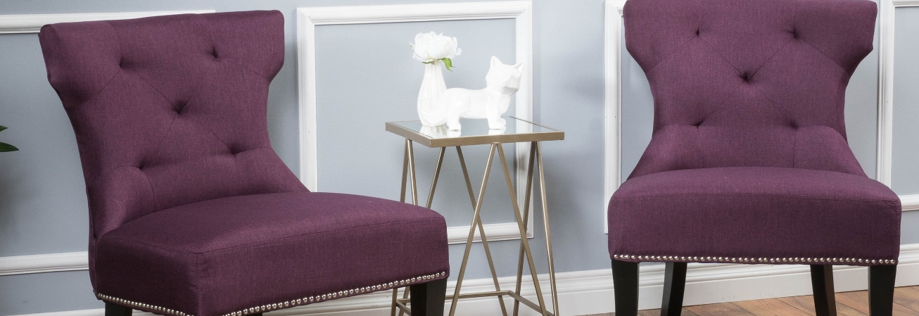 Accent Chairs Purple Living Room Chairs For Less