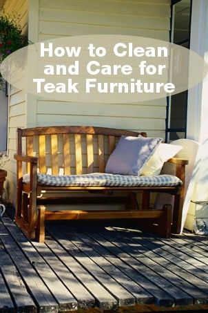 How to Clean and Care for Teak Furniture | Overstock.com