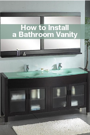 Things You Need. How to Install a Bathroom Vanity   Overstock com