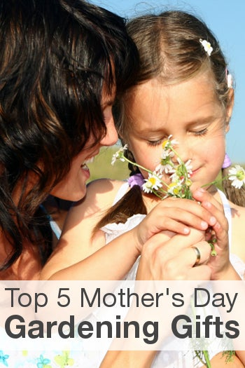 Top 5 Mother's Day Gardening Gifts from Overstock™. If your mom loves to garden, get her a Mother's Day gift that honors her favorite hobby.