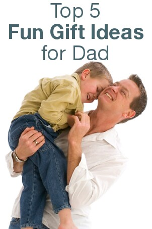 Top 5 Fun Gift Ideas for Dad from Overstock™. Consider these gift ideas if your dad is hard to shop for.