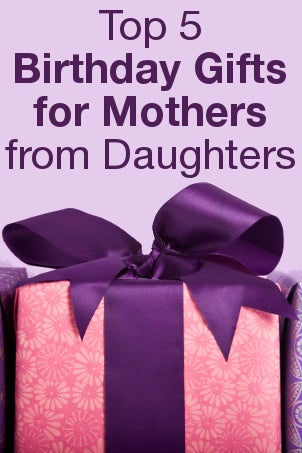 Top 5 birthday gifts for mothers from daughters for Great present for mom