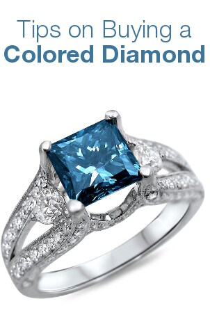 Tips on Buying a Colored Diamond from Overstock™. Thinking about buying a colored diamond? Here's some advice to help you buy the perfect diamond.