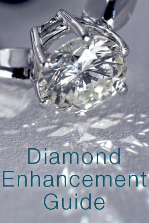 Diamond Enhancement Guide from Overstock™. Just as with cutting and polishing, diamond enhancement can bring out a gem's best features.