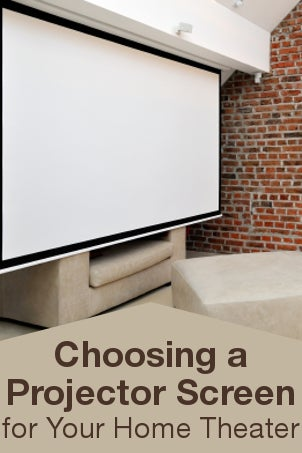 Shop Projection Screens