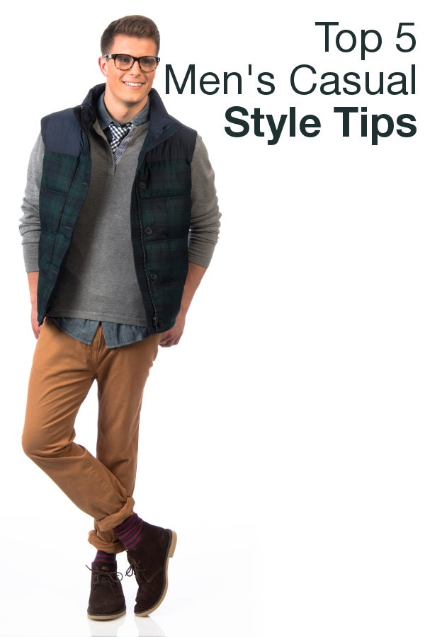 Top 5 Men's Casual Style Tips