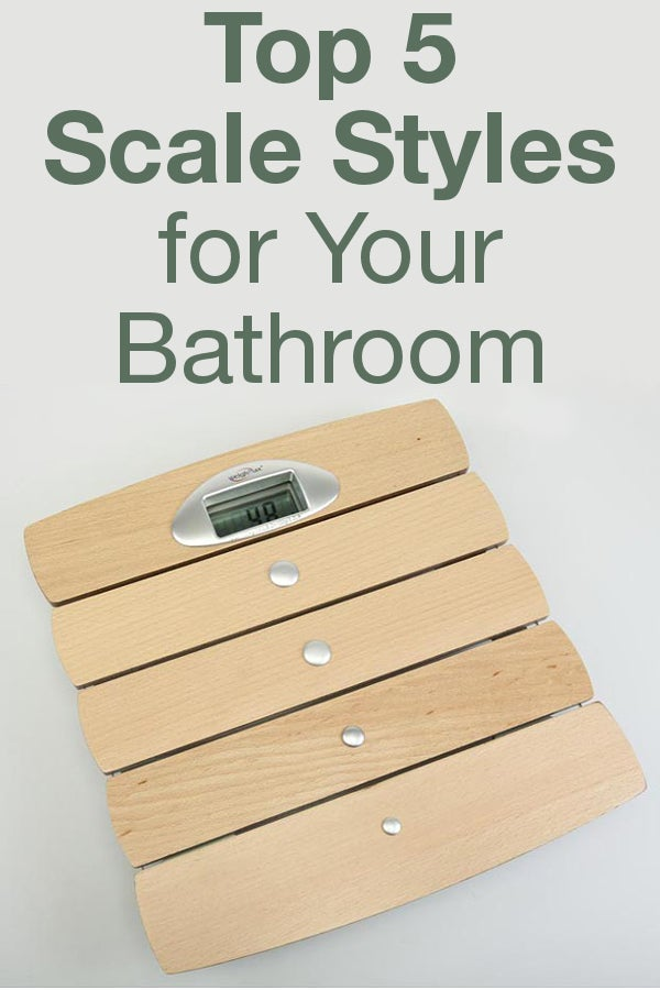 Bathroom scales can help you reach your fitness goals as well as add style to your bathroom